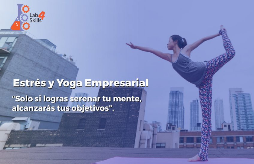 estrés laboral yoga